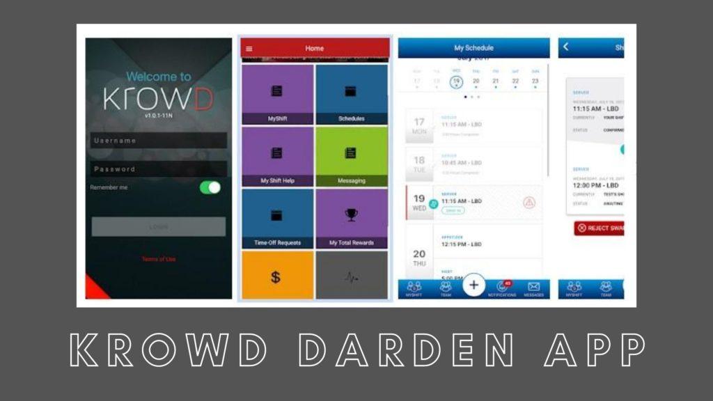 krowd darden app
